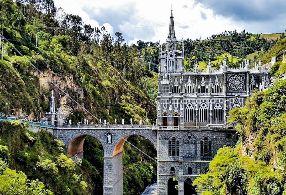 Las Lajas, Colombia - off the beaten track places to visit in South America