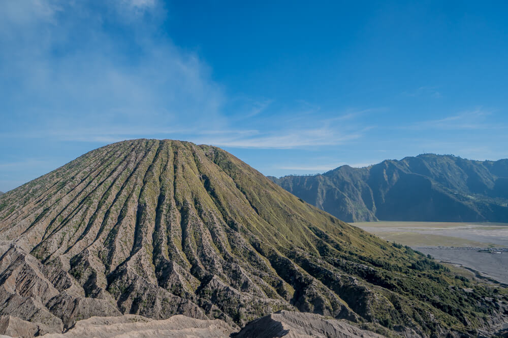 Mount Batok in the Bromo Tengger Semeru National Park
