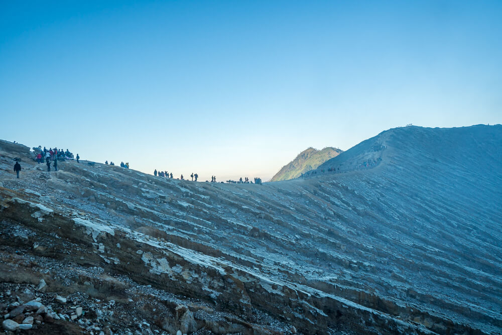 Mount Ijen summit