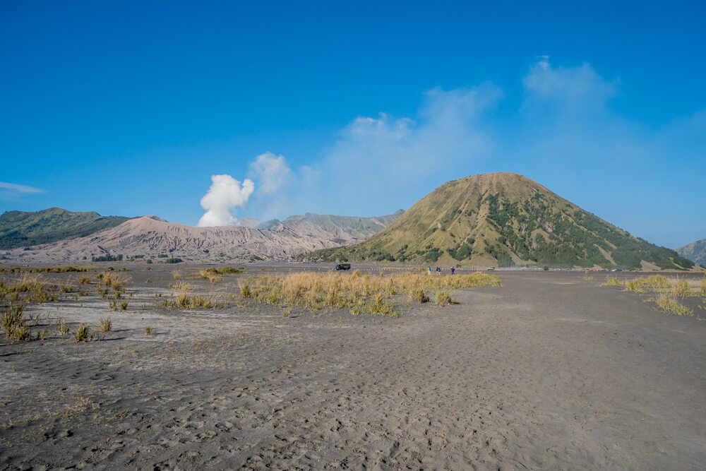 Sea of Sand in the Bromo Tengger Semeru National Park