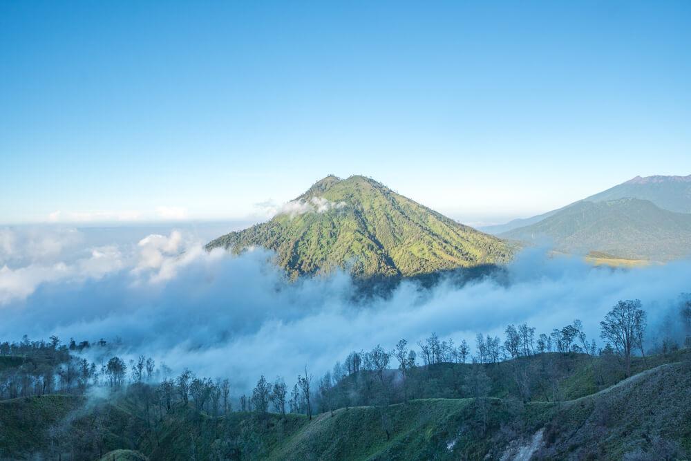 View from Kawah Ijen