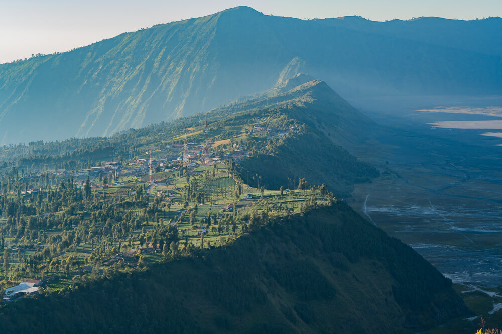 View of Cemoro Lawang