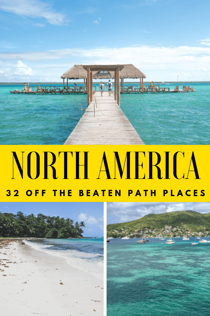 With so many things to do across North America, it's easy to get off the beaten path. From a variety of different destinations such as beaches, cities, National Parks, and not just in the USA. Add these to your bucket lists and future trips! Find out these tips from travel bloggers to get off the beaten path in North America. #offthebeatenpath #offthebeatentrack #usa #northamerica