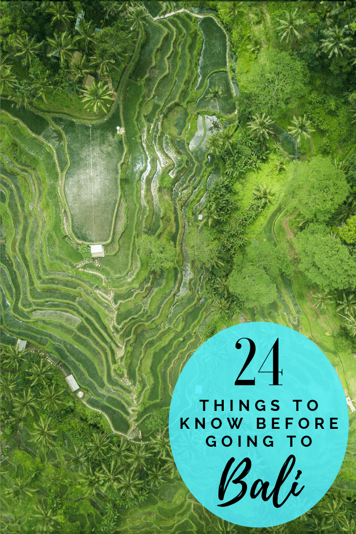 Bali is different to most places in Southeast Asia. Here there are a number of things to know before you visit Bali, Indonesia. From long flights to where to avoid like Kuta to the best beaches on the island, to food, to taking trips in the island. Here are 24 travel tips to Bali you need to know before you go! #bali #asia #traveltips