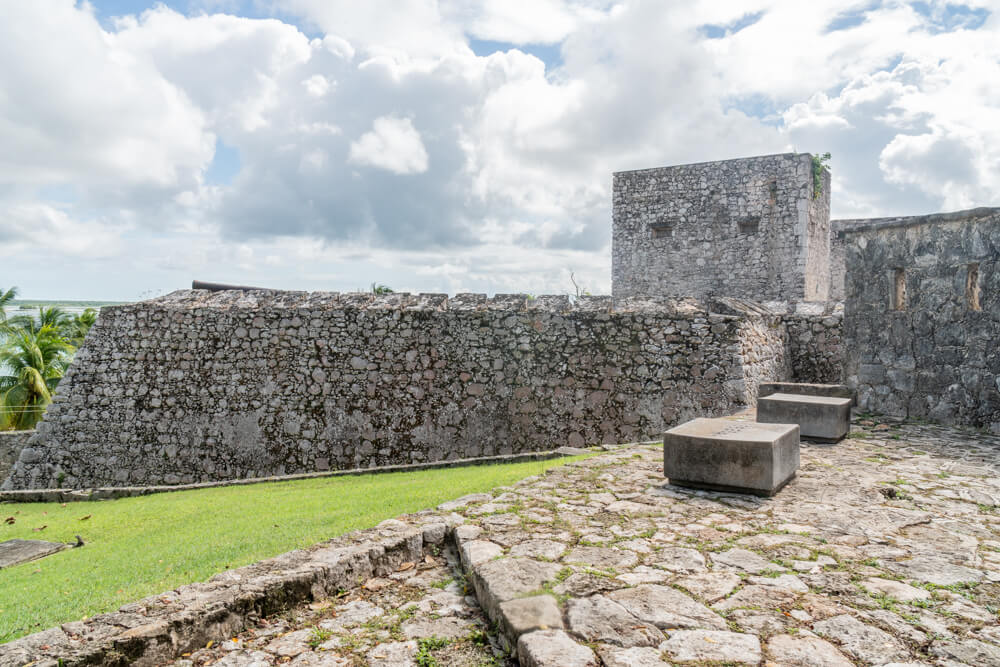 Fort San Felipe Bacalar - visiting the fort is one of the best things to do in Bacalar Lagoon, Mexico