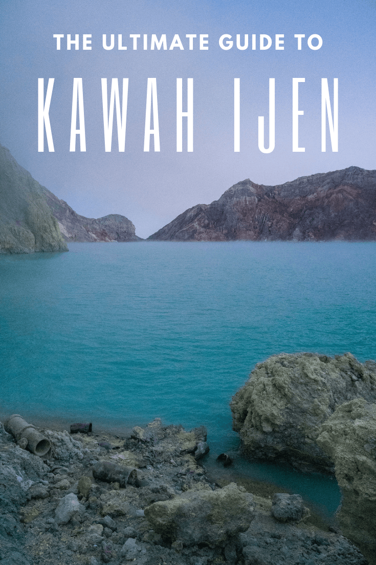 Known for its famous blue fire, Kawah Ijen is an adventure not to be missed in Asia. Found on the island of Java, next to Bali, this incredible volcano is a must do in Indonesia. With this guide, find out about sunrise over the lake, tips for Kawah Ijen as well as getting to it from the nearby town of Banyuwangi. Click here to find out more! #kawahijen #indonesia #ijen