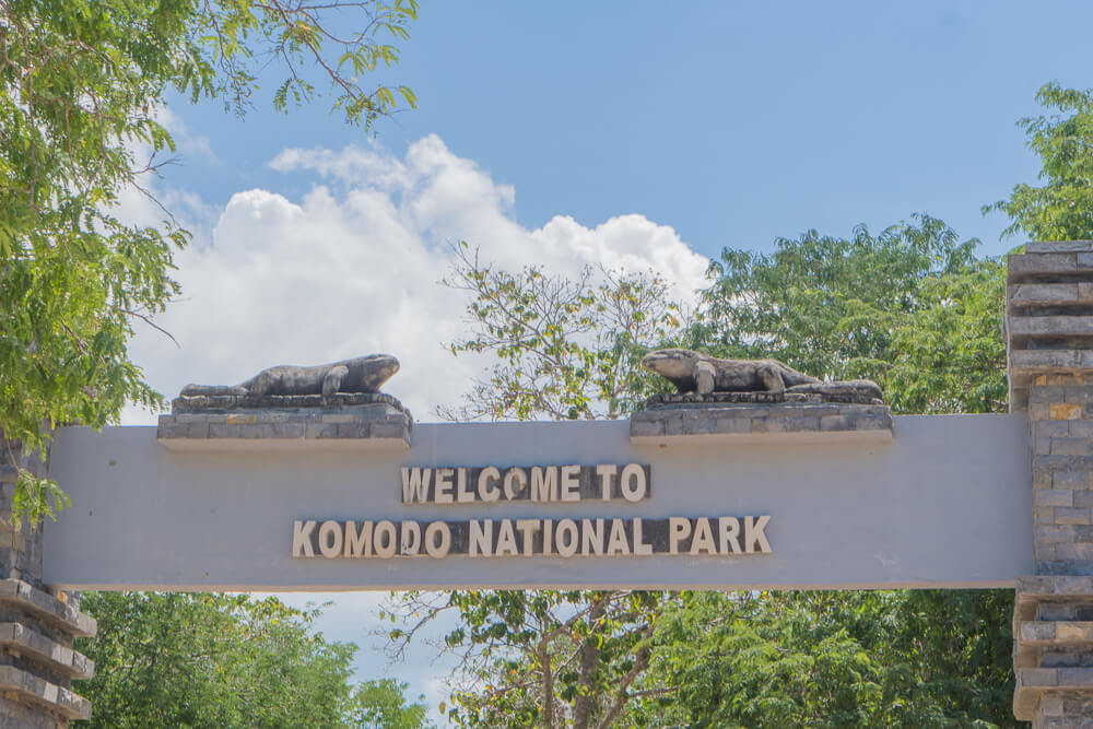 Komodo National Park tour entrance