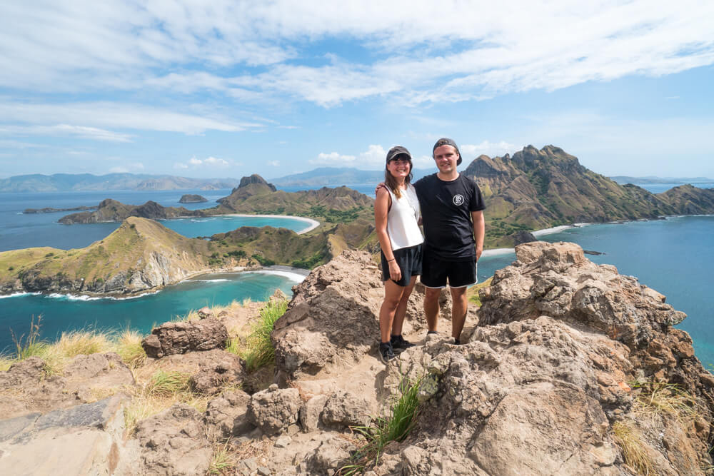 Padar Island scenery - Komodo Islands tour