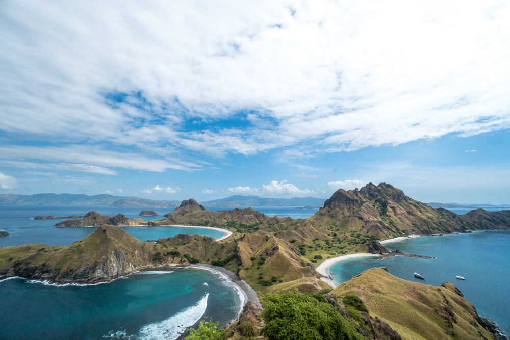 Padar Island viewpoint - Komodo National Park tour