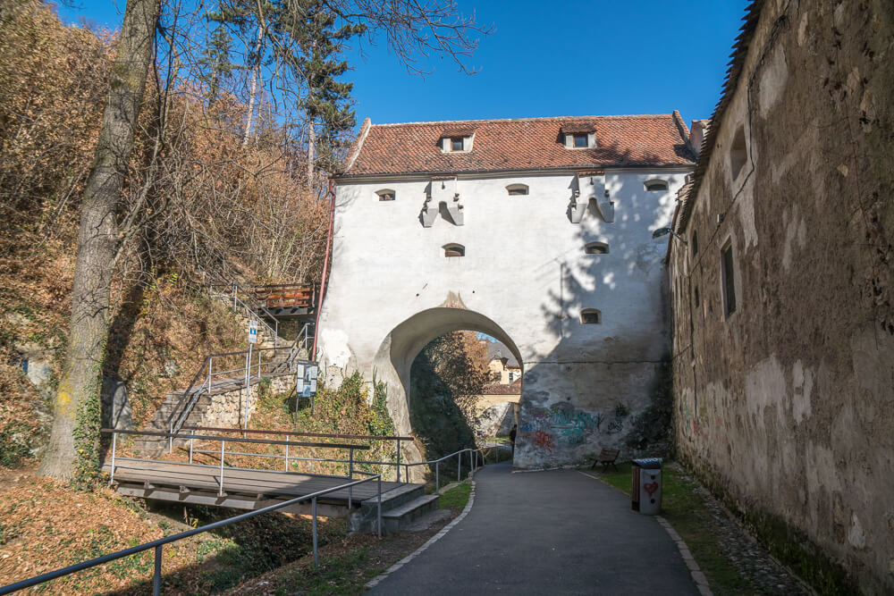 Graft Bastion in Brasov, Romania