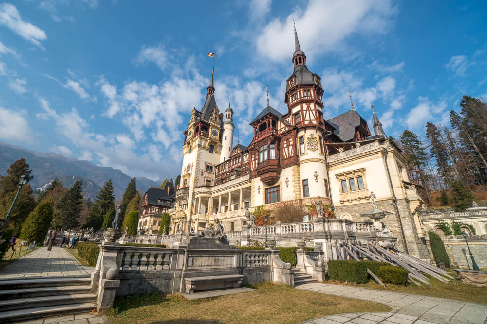 Peles Castle - one of the best things to do in Brasov