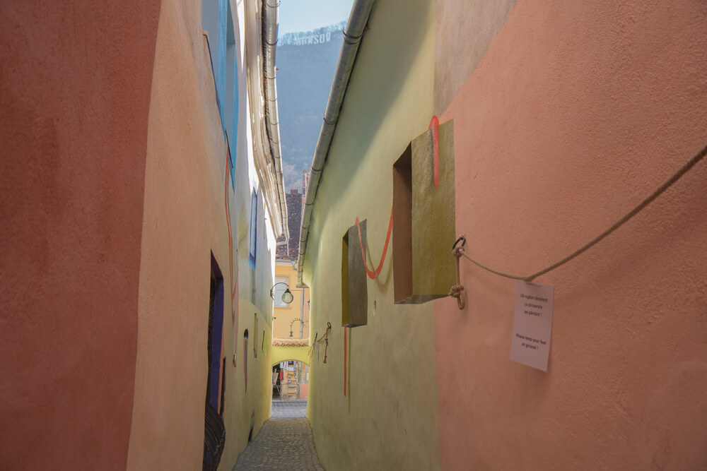 Rope Street - one of the narrowest streets in Europe
