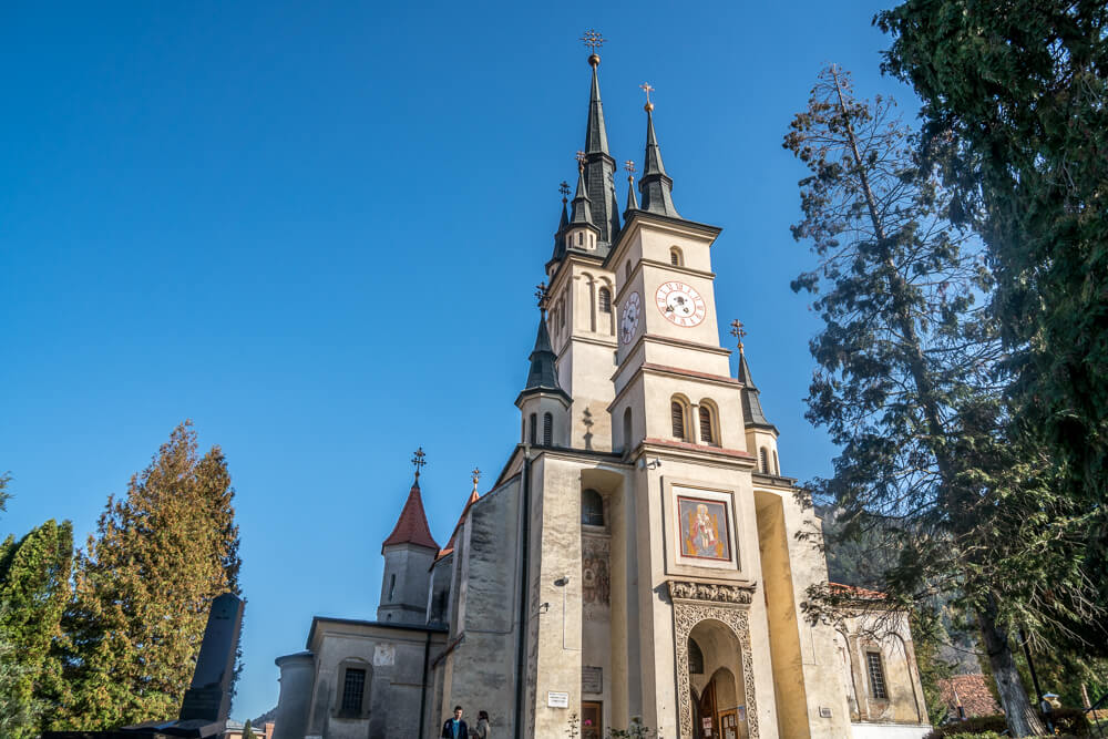 St. Nicholas Church in the Schei District of Brasov