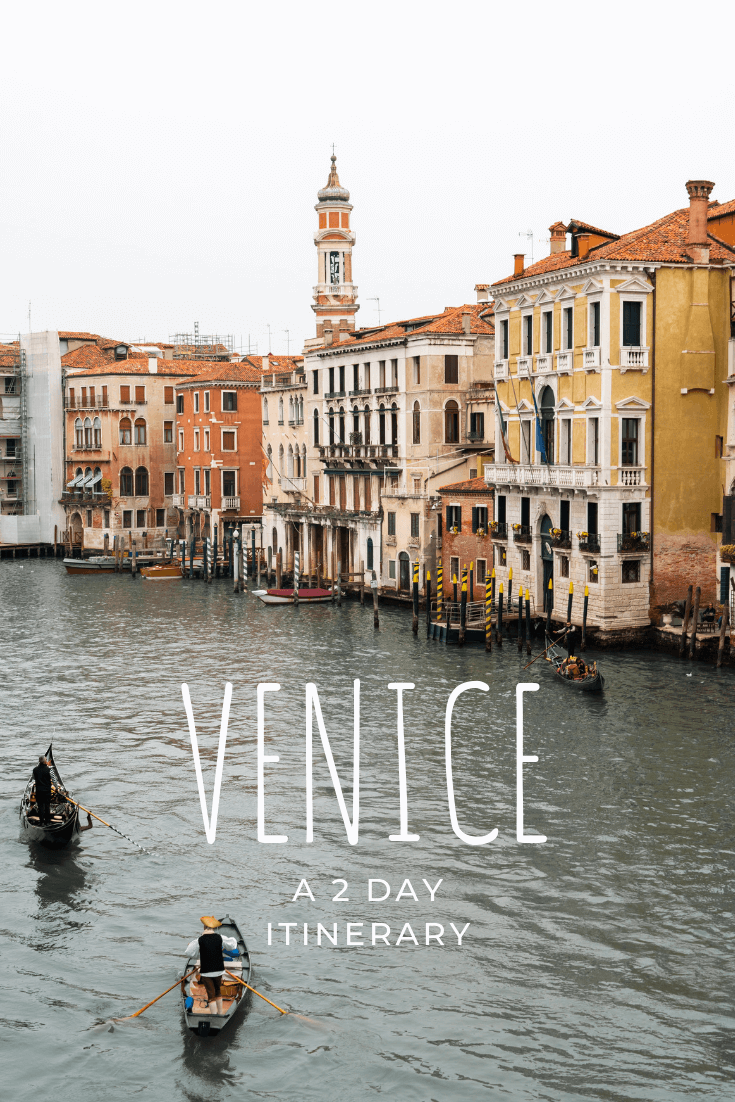Things to do in Venice in 2 days pin