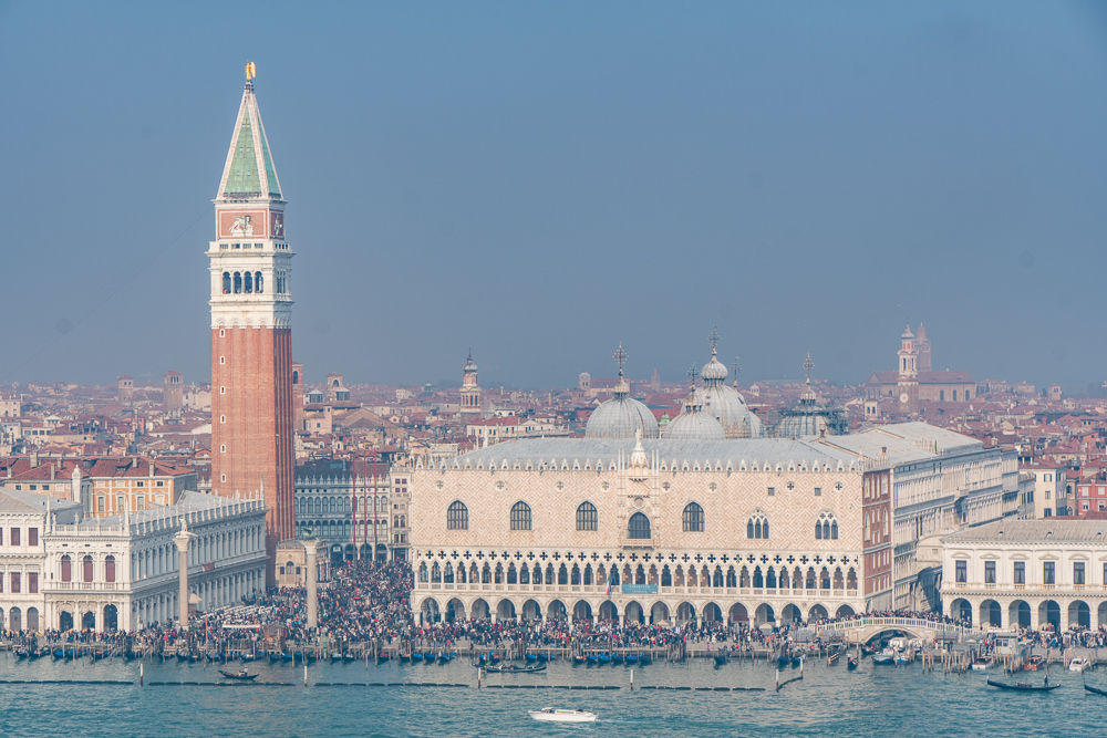 View of Venice from San Giorgio Maggiore Church