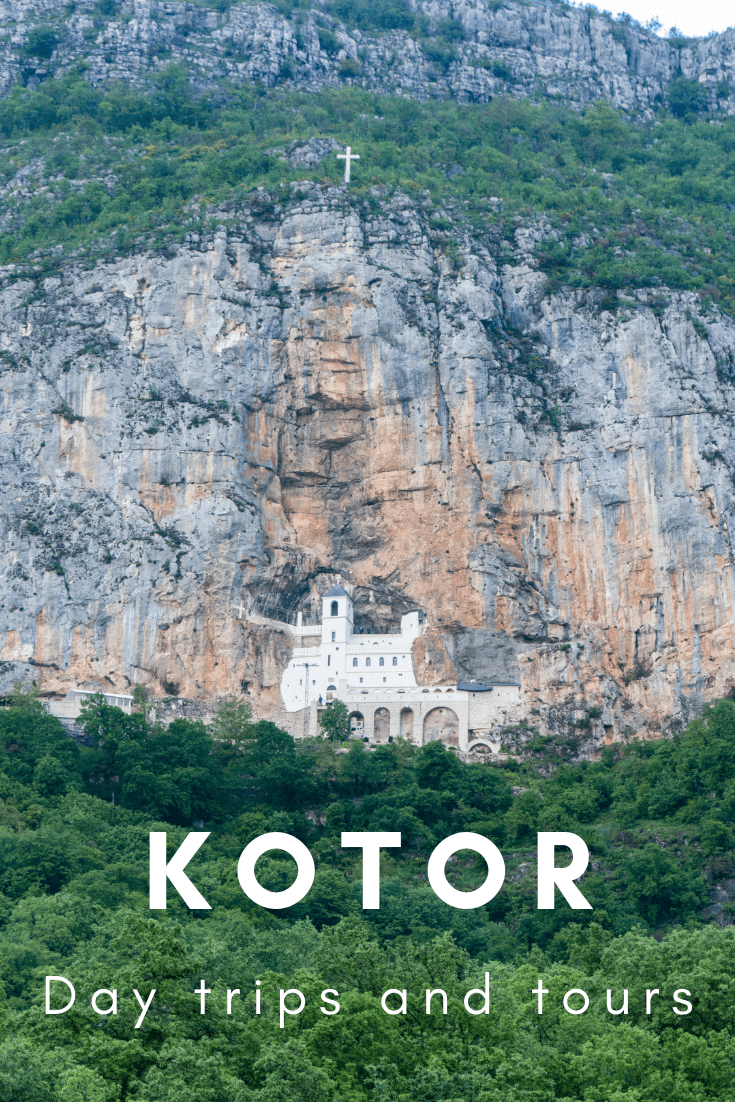 Best day trips from Kotor, Montenegro, pin