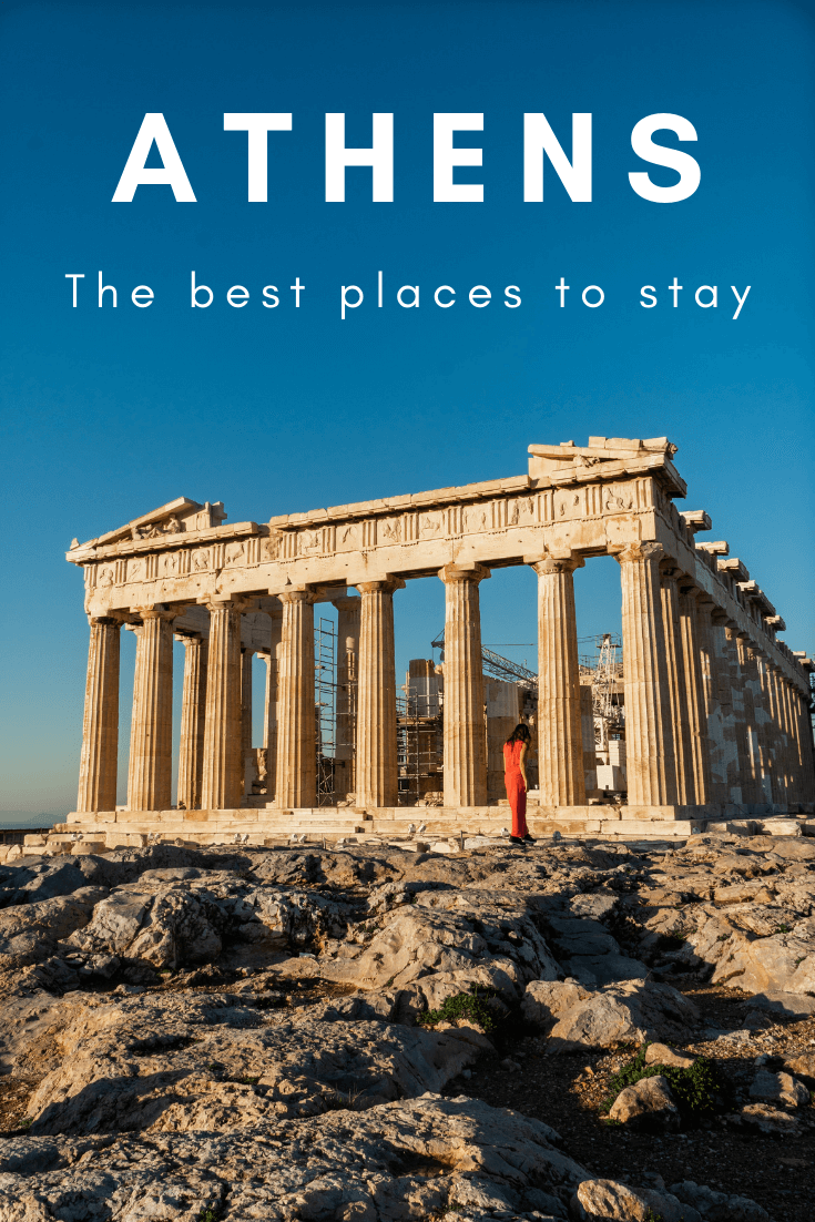 Best places to stay in Athens, Greece, pin