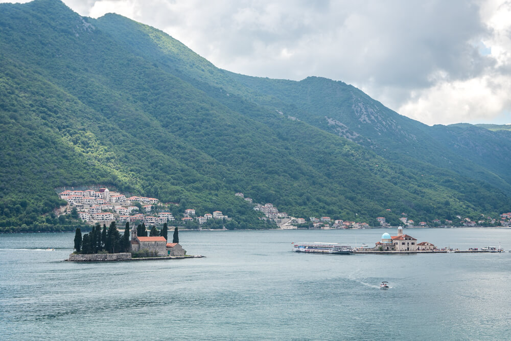 Boat trips are one of the best excursions in the Bay of Kotor