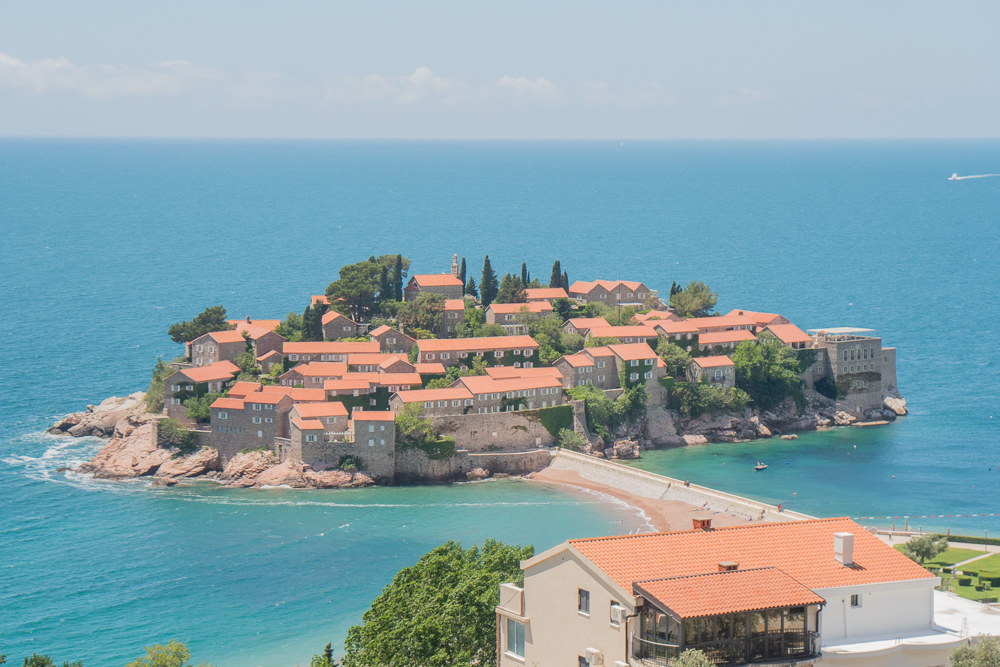 Sveti Stefan - an easy spot to visit as part a day trip from Kotor to Lovcen National Park