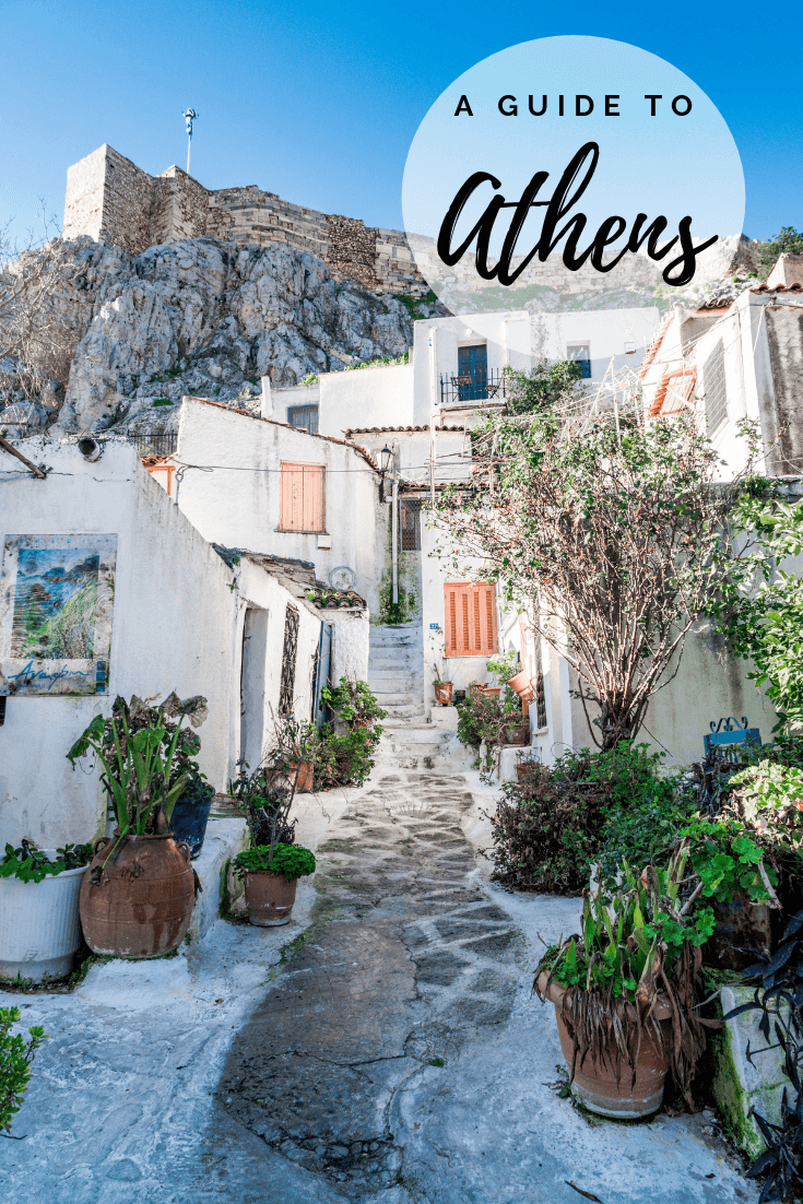 Things to do in Athens pin