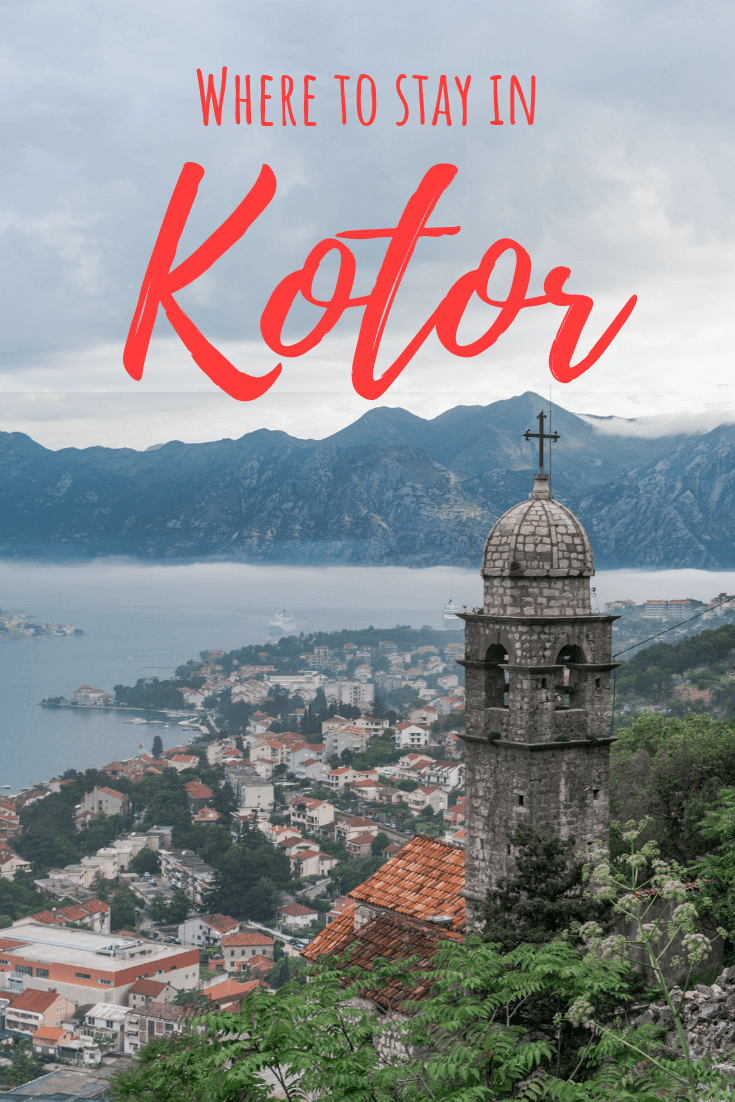 Best places to stay in Kotor Old Town pin