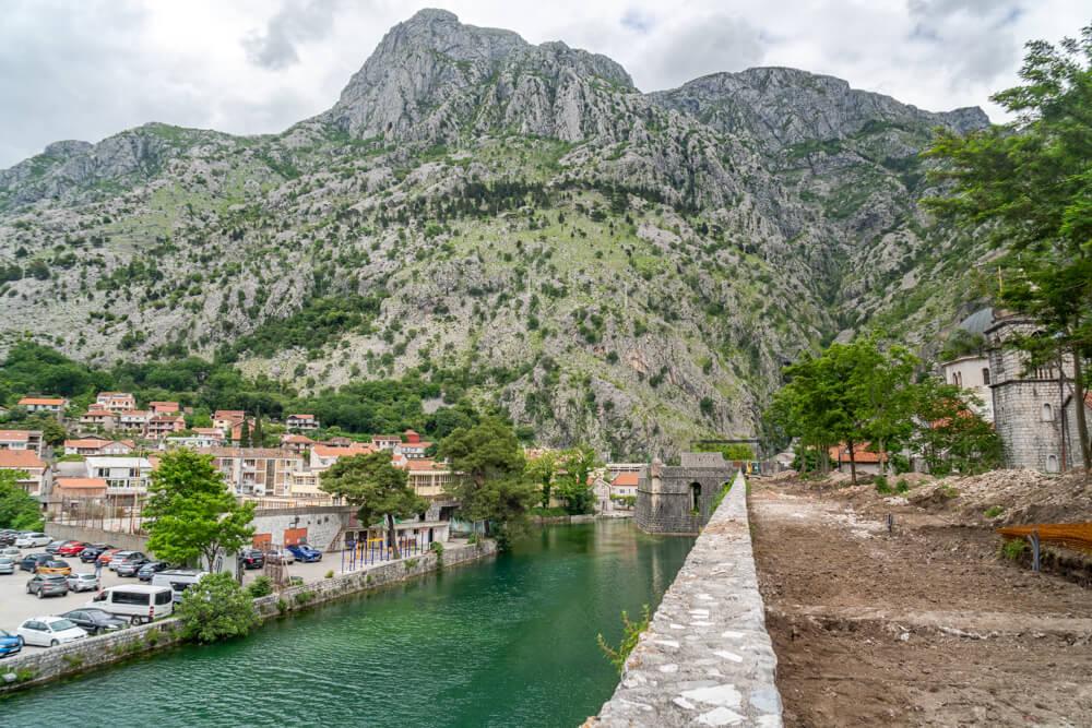 City Walls in Kotor, Montenegro