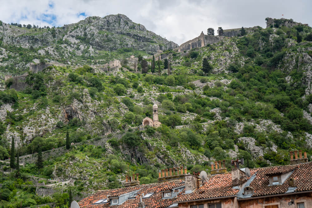 St John's Fortress, one of the best things to do in Kotor