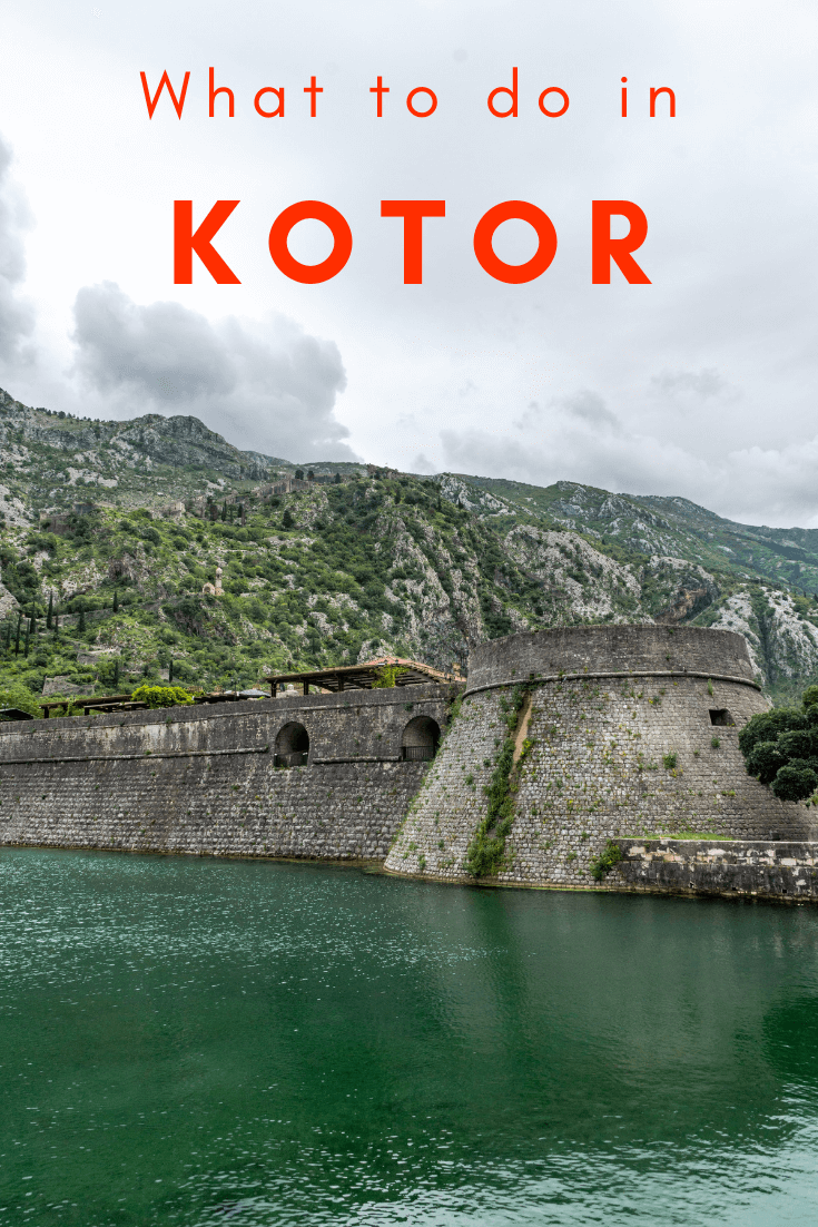 Things to do in Kotor Old Town pin