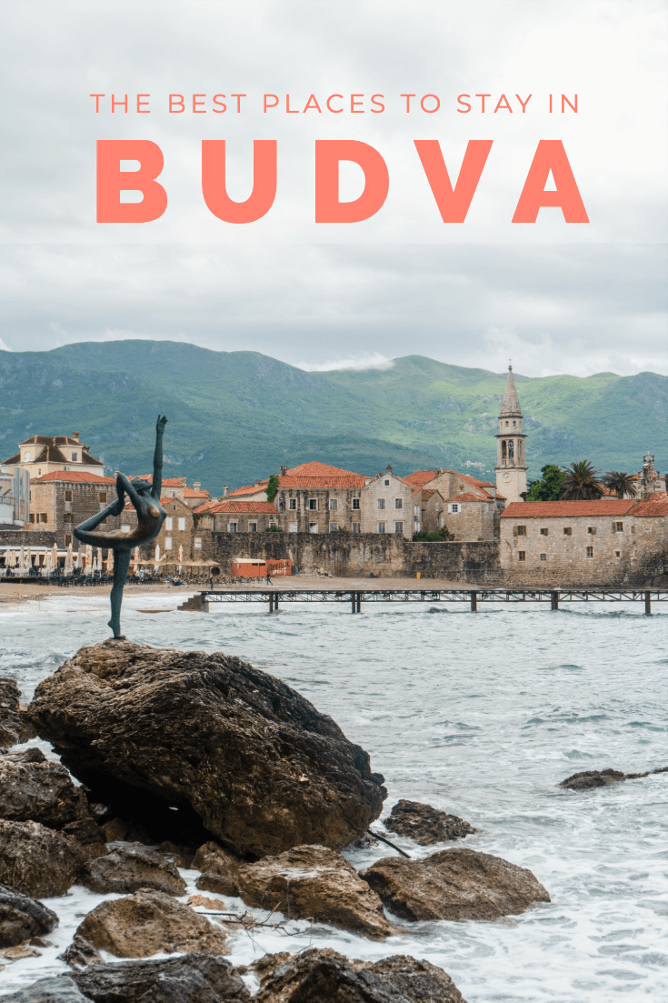 Best places to stay in Budva pin