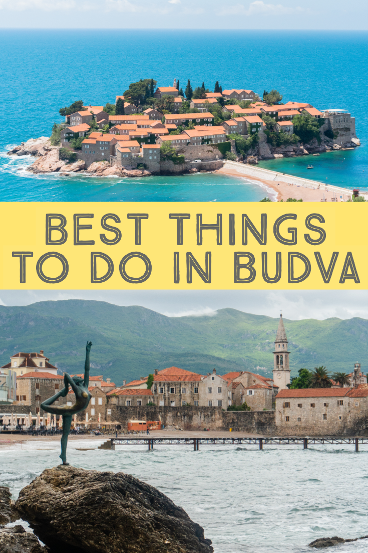 Best things to do in Budva, Montenegro, pin