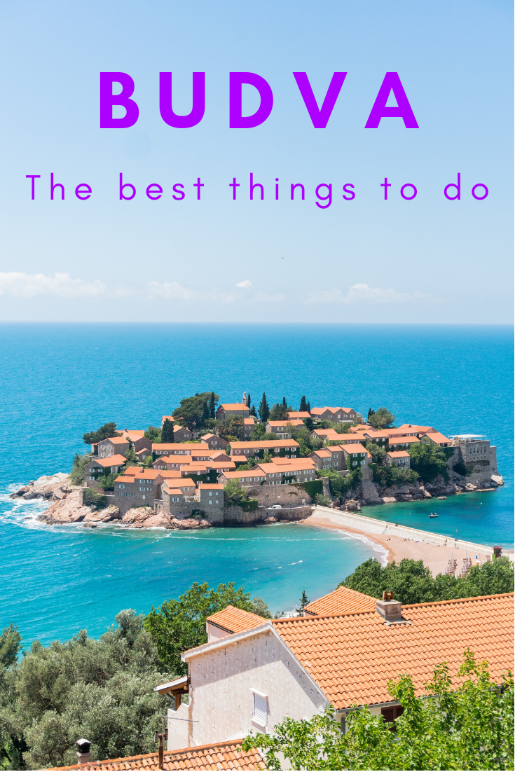 Best things to do in Budva pin