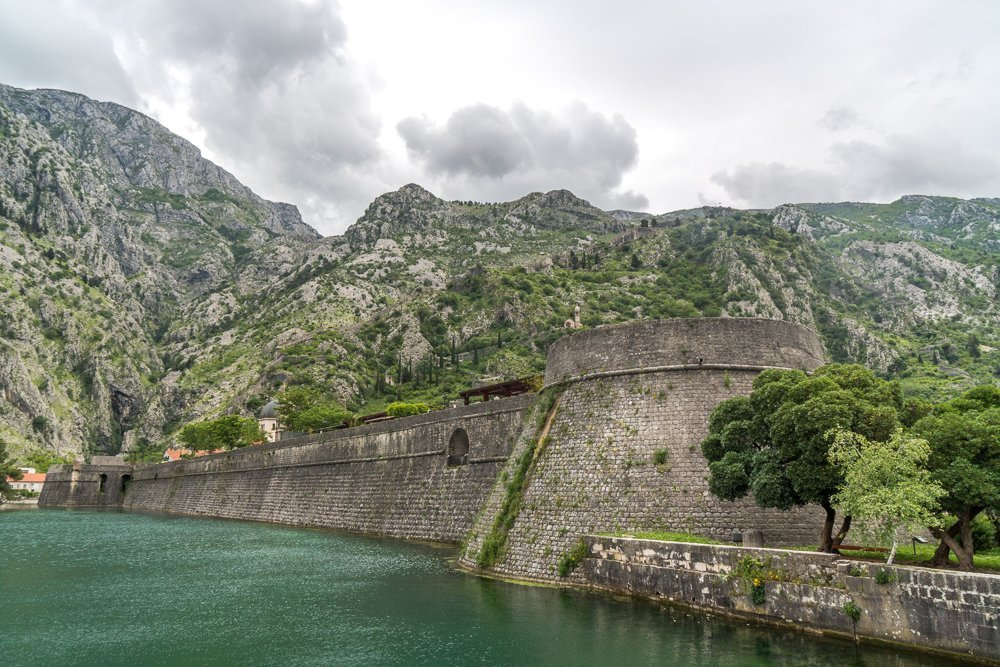Outside Kotor Old Town - the first stop of your 7 day Montenegro itinerary