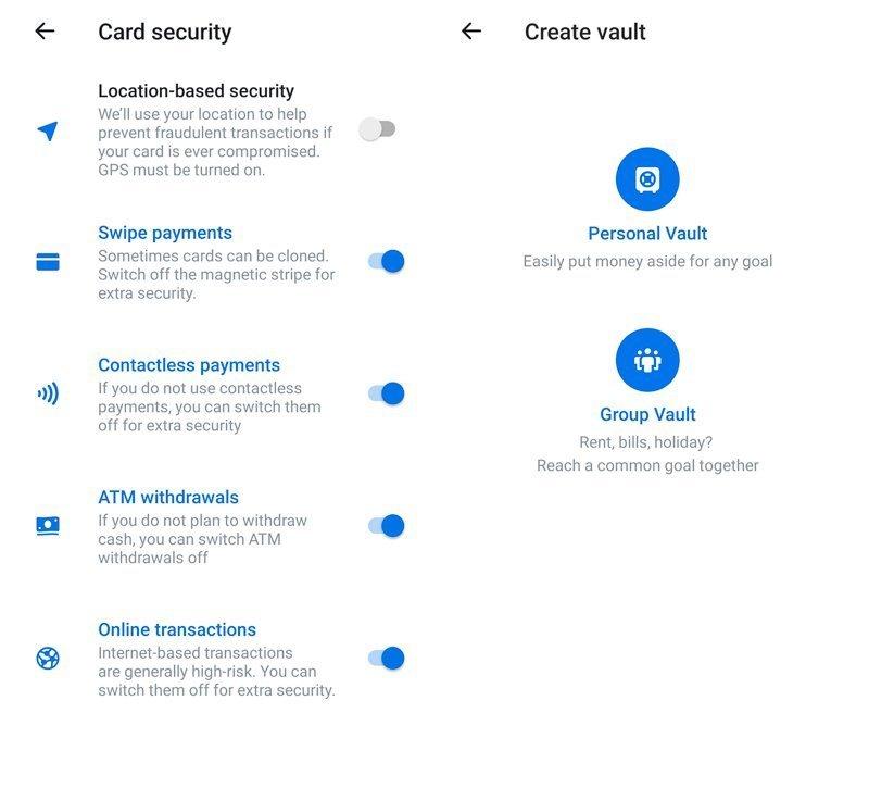 Revolut app extras screenshot - Revolut Travel Card Review