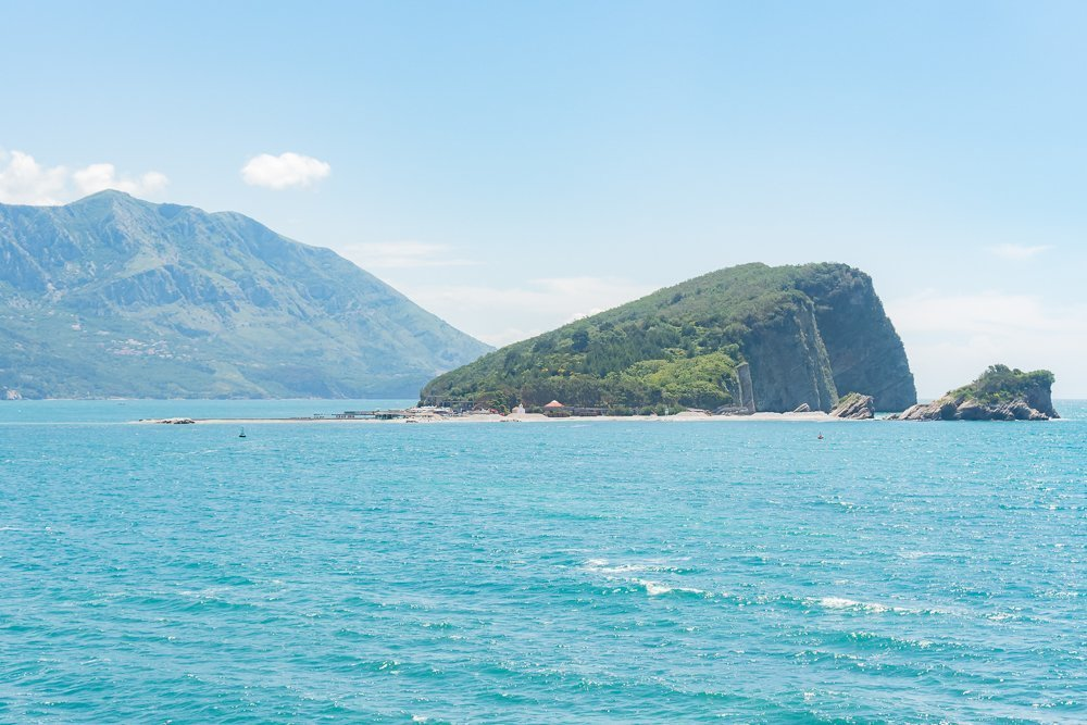 St. Nicholas Island - a trip here is one of the best things to do in Budva