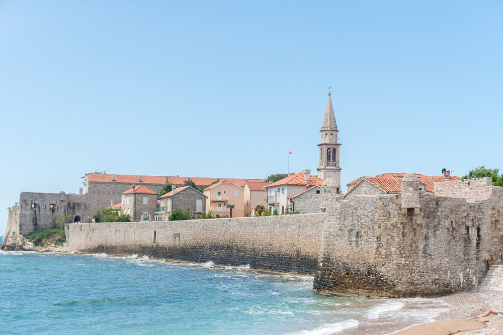 View of Budva Old Town, Montenegro