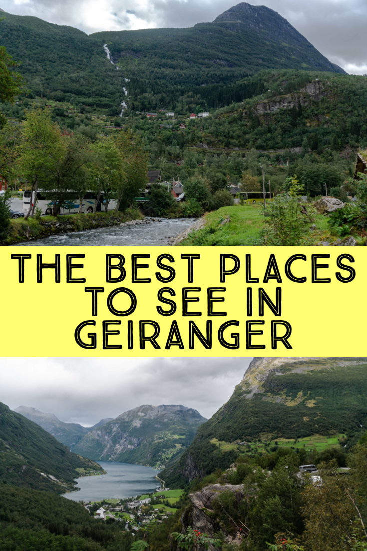 Best places to see in Geiranger, Norway, pin