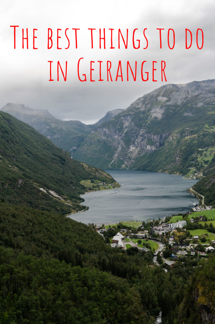 Best things to do in Geiranger, Norway, pin