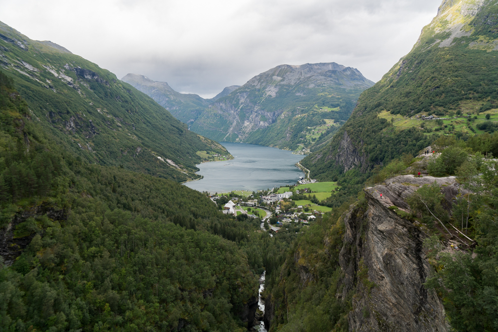 Flydalsjuvet Rock Viewpoint - a great way to see Geirangerfjord, Norway