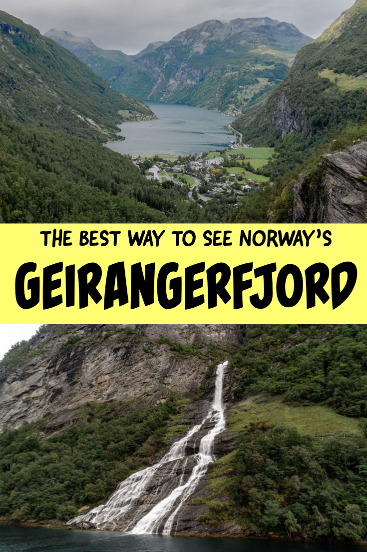Best ways to see Geirangerfjord pin