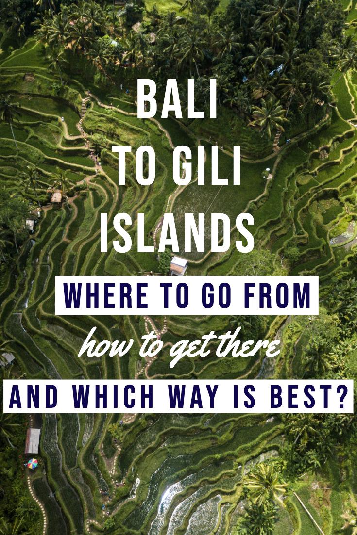 Getting from Bali to Gili Islands pin