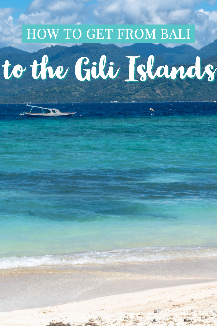 How to get from Bali to Gili Islands pin