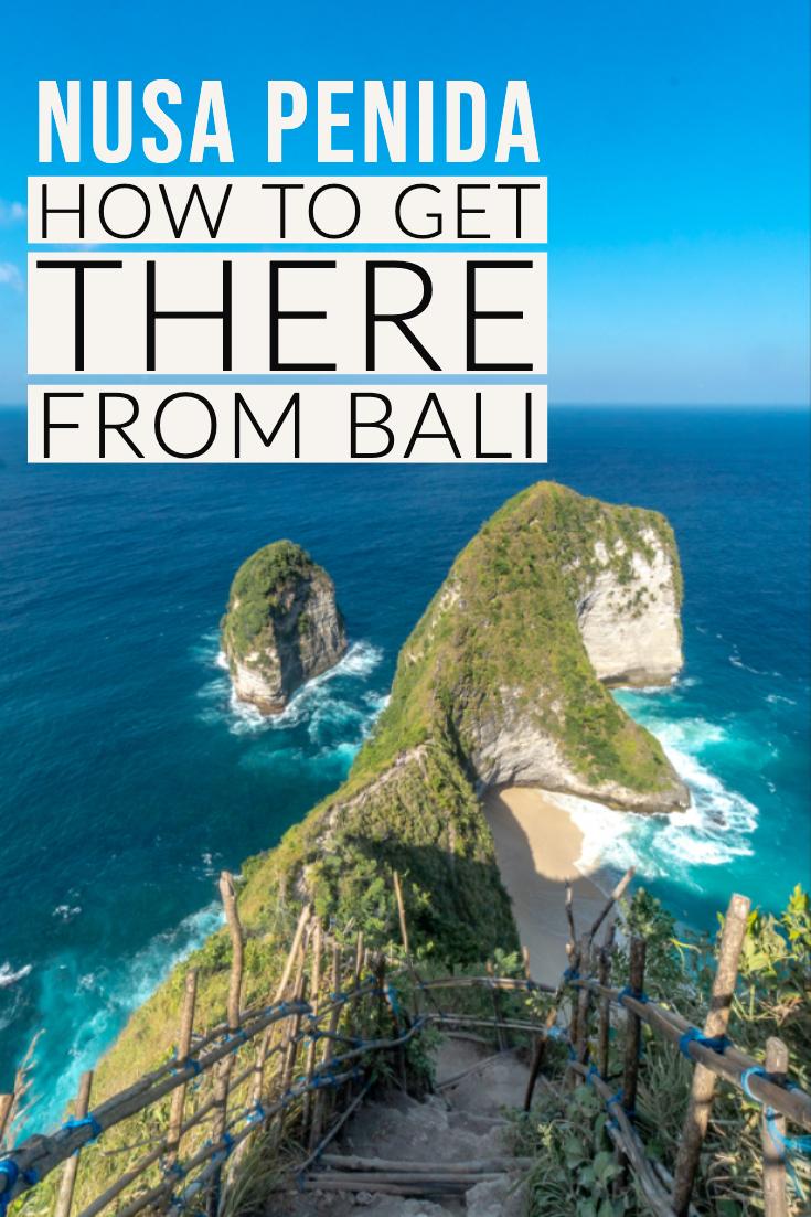 Bali to Nusa Penida pin