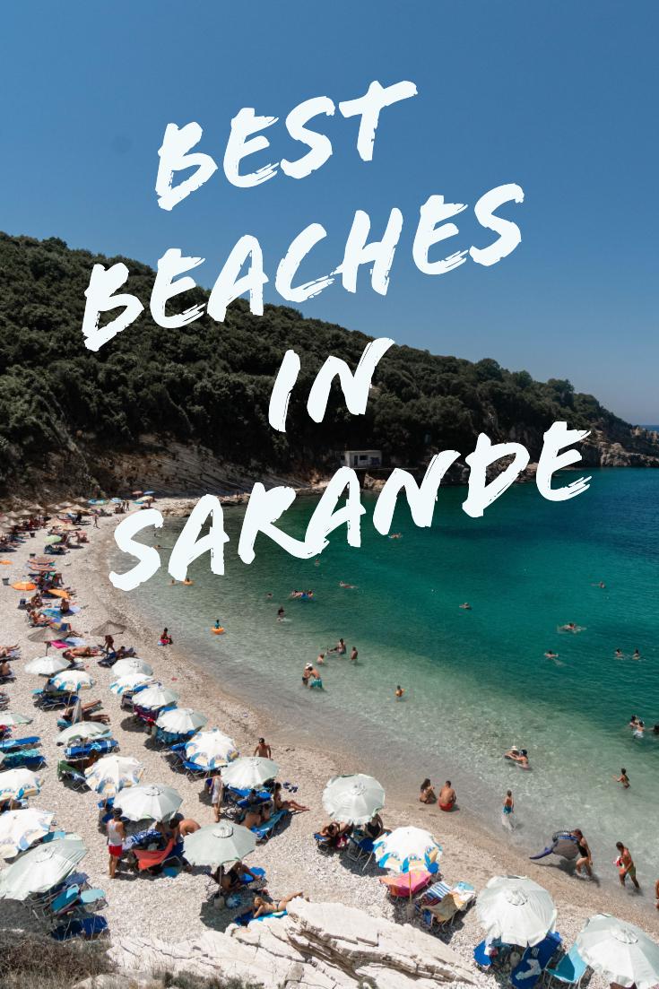 Best beaches in Saranda pin