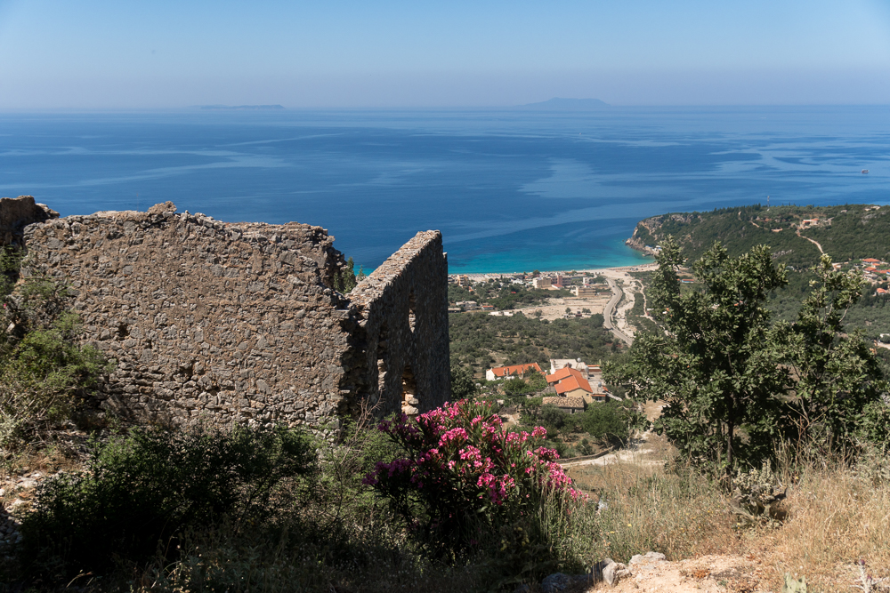 Himare Castle - one of the best things to do in Himara