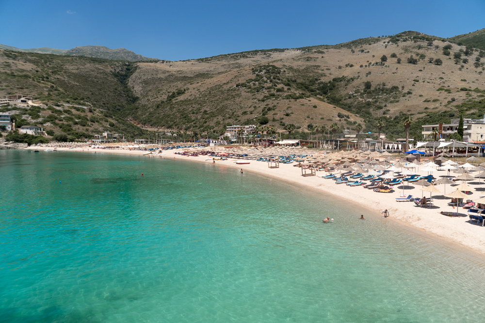 Jala Beach - one of Albania's most popular beaches