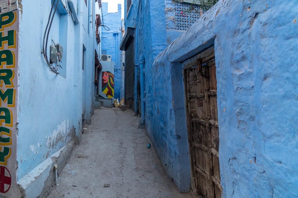 The 'Blue City' in Jodhpur