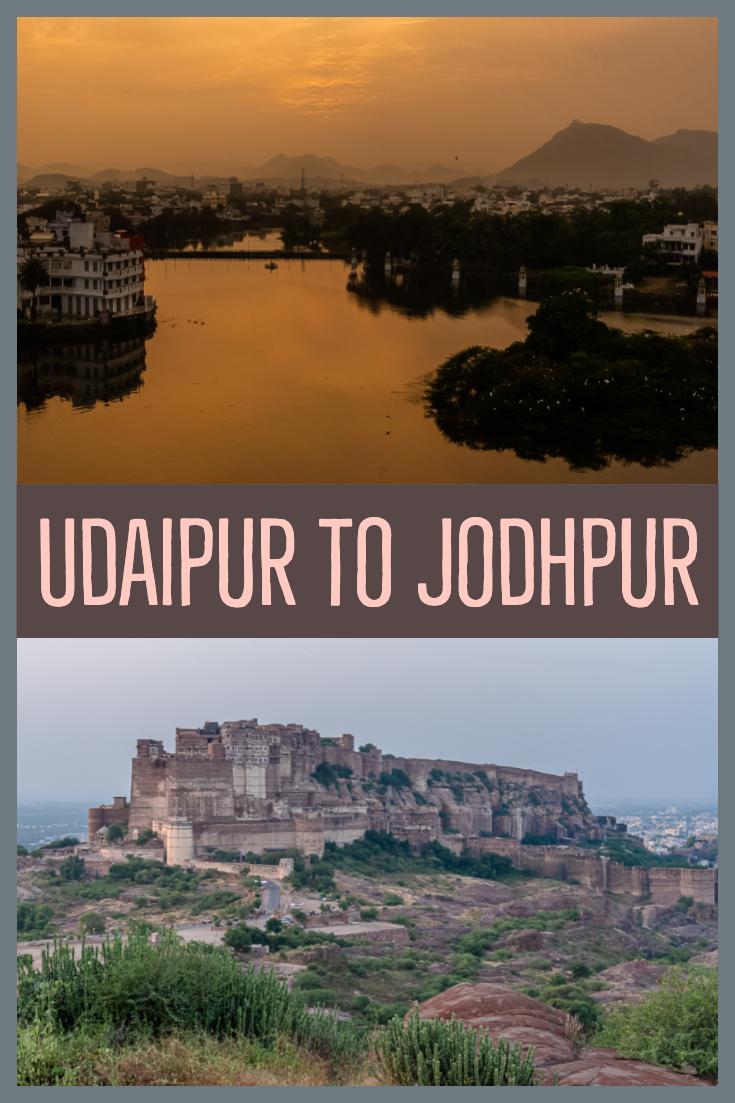 Udaipur to Jodhpur pin