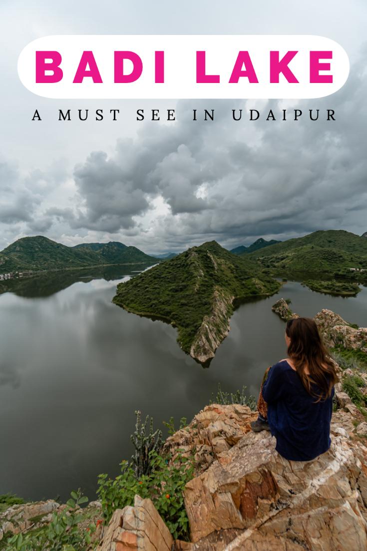 Badi Lake and Bahubali Hill Viewpoint pin
