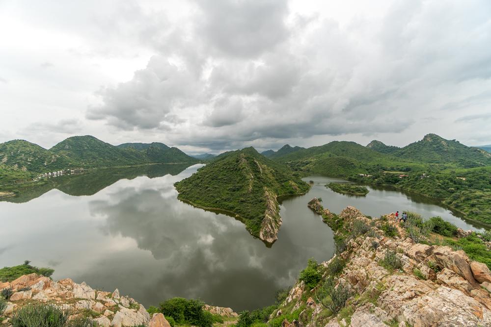 Bahubali Hill Viewpoint at Badi Lake, Udaipur