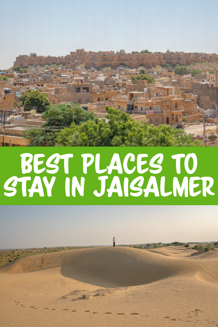 Best places to stay in Jaisalmer pin